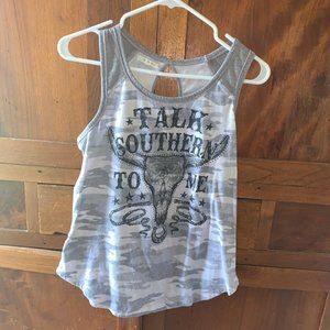 Maurices tank top country sleeveless size m